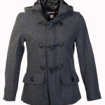 Women's Cropped Wool Duffle Coat
