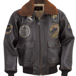 G-1 Wings of Gold Leather Bomber Jacket