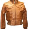 Knoles & Carter Women Gobi Genuine Leather Jacket