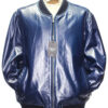 Mens Baseball Leather Jacket