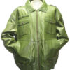 Mens Leather Military Jacket