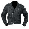Mc Men Biker Leather Jacket