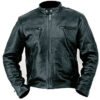 Classic Racer Leather Motorcycle Jacket