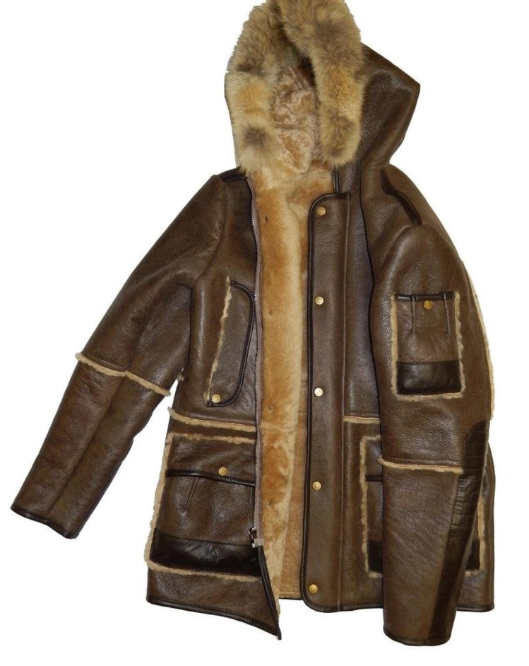 Jakewood Men&39s Shearling Jacket | Leather Accessories Inc