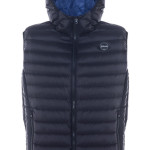 Nylon ultra light down filled Silverado Vest with hood