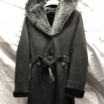 Women's Sheepskin 7/8 length coat