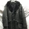 MEN MARBLE SHEARLING WITH HOOD