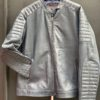 Men's  Smooth Lamb Leather Jacket