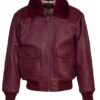 "Lambskin ""Wings of Gold"" G-1 Flight Jacket"