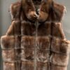 NEW WOMEN, FULL SKIN FEMALE MINK VEST